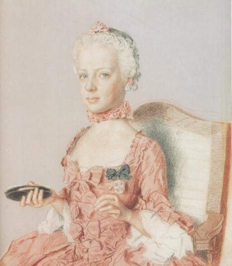 Portrait von Jean-Étienne Liotard (1762, Public Domain)